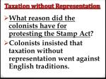 taxation without representation4