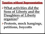taxation without representation6