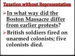 taxation without representation8