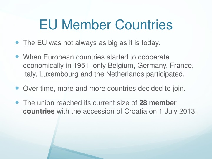 EU Member Countries