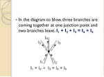 in the diagram to blow three branches are coming