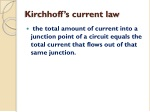 kirchhoff s current law