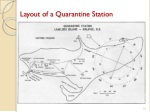 layout of a quarantine station