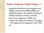 today s immigration health program 1