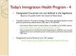 today s immigration health program 4