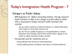 today s immigration health program 7