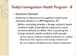 today s immigration health program 8