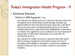 today s immigration health program 9