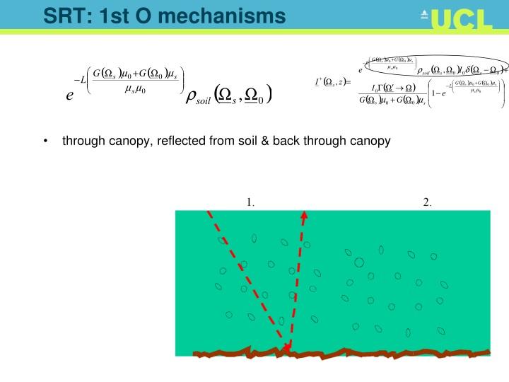 SRT: 1st O mechanisms