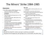 the miners strike 1984 19854