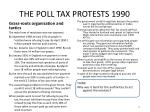 the poll tax protests 19902