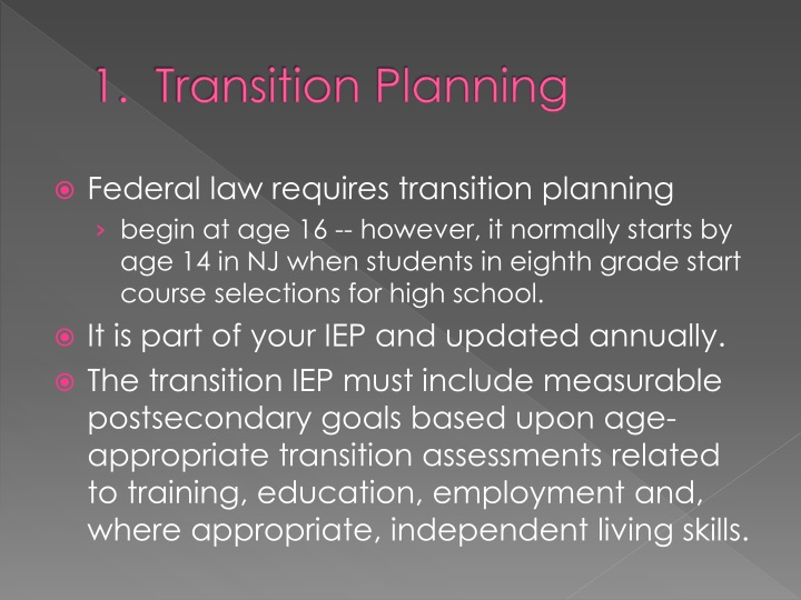 transition planning and transition education essay Using transitions to improve paragraph and essay flow.