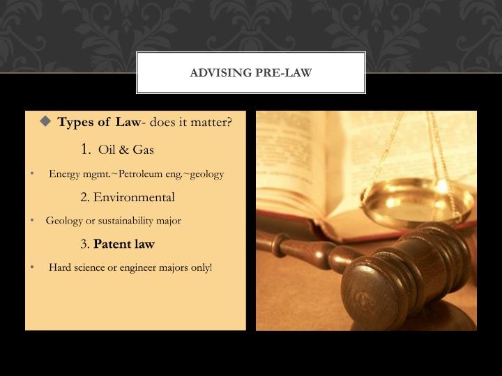 Advising Pre-Law