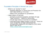 foundation principles in animal law cont