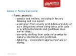 issues in animal law cont