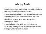 whisky trade