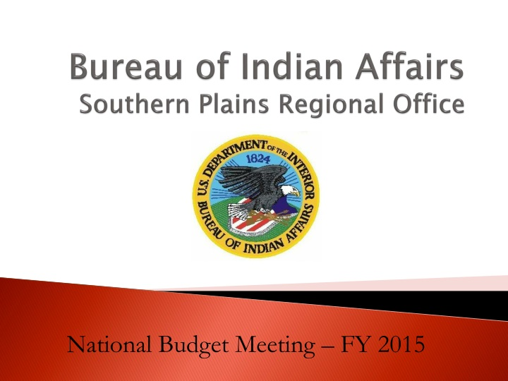 Bureau of indian affairs southern plains regional office