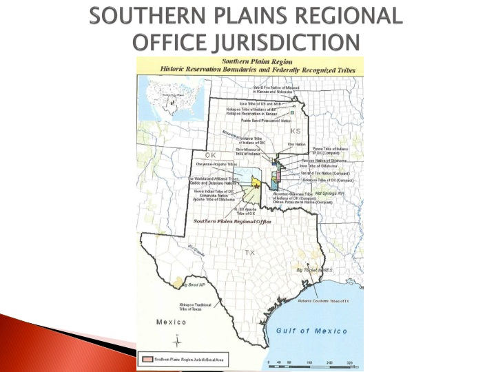 Southern plains regional office jurisdiction