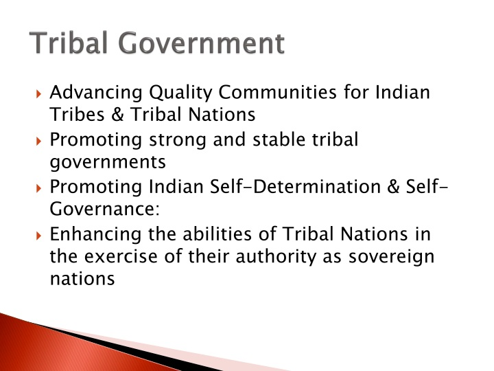 Tribal Government