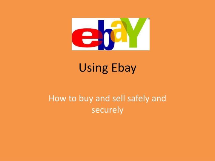 using ebay n.