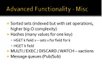 advanced functionality misc
