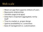 web scale