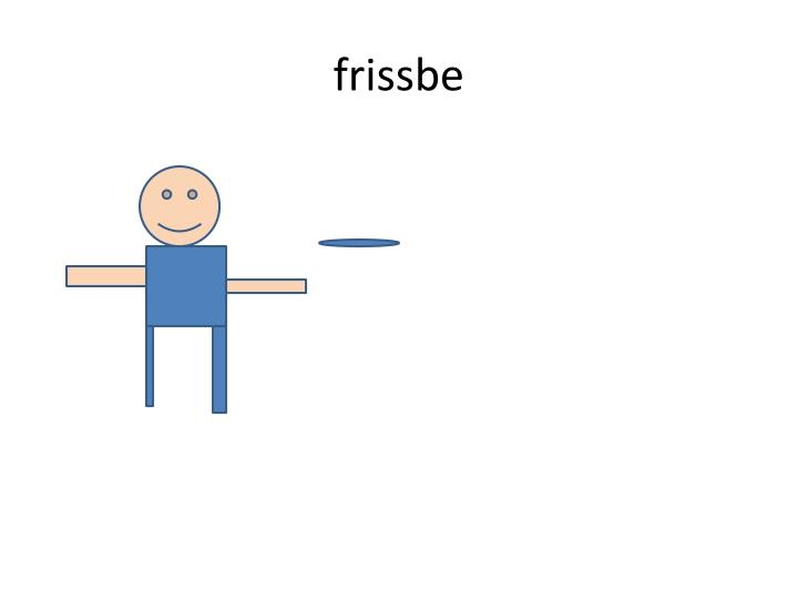 frissbe