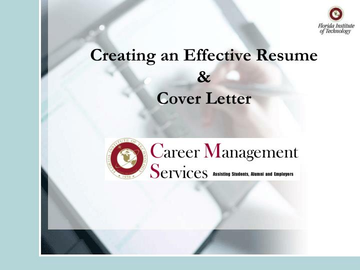 creating an effective resume cover letter n.