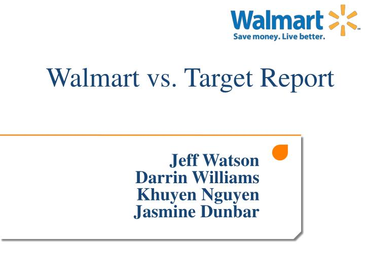 wal mart vs target product or corporate differentiation Target's outside-the-box strategy made it the no 2 discounter behind you-know-who tar-zhay's success is examined in this excerpt from the new book simply better, from harvard business school press in 2002 the minneapolis-based target corporation leapfrogged kmart to become the united states's.