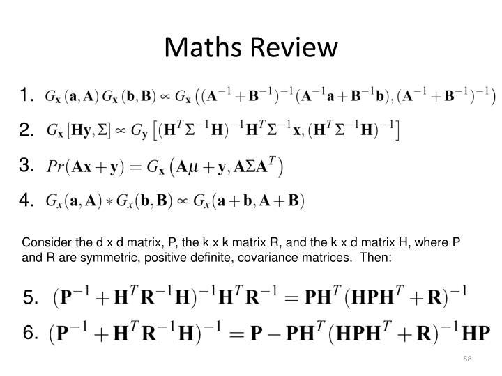 Maths Review