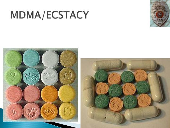 MDMA/ECSTACY