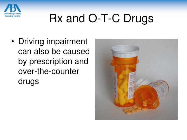 Rx and O-T-C Drugs