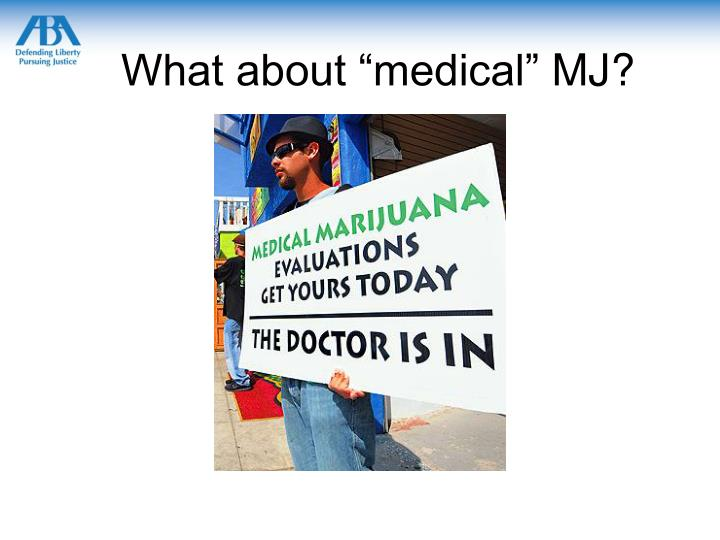 """What about """"medical"""""""