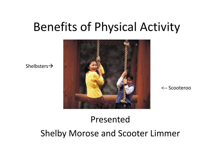 benefits of physical activity n.