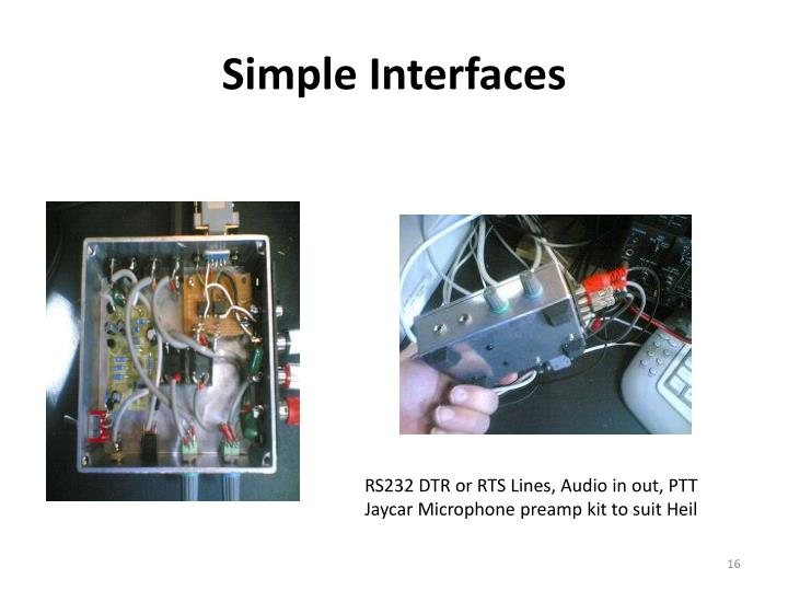 Simple Interfaces