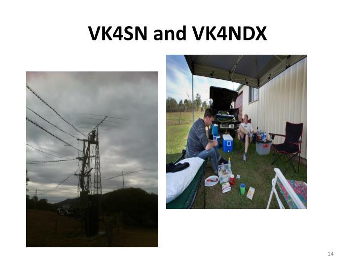 VK4SN and VK4NDX