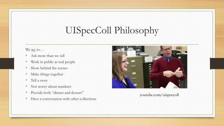 UISpecColl