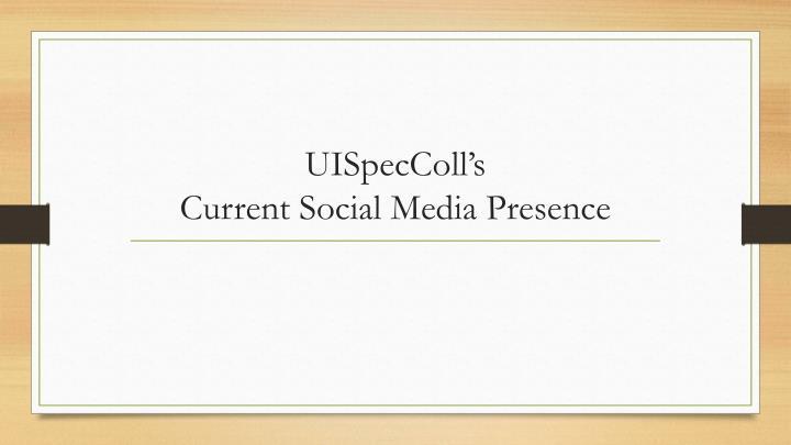 UISpecColl's