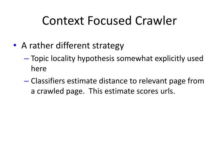 Context Focused