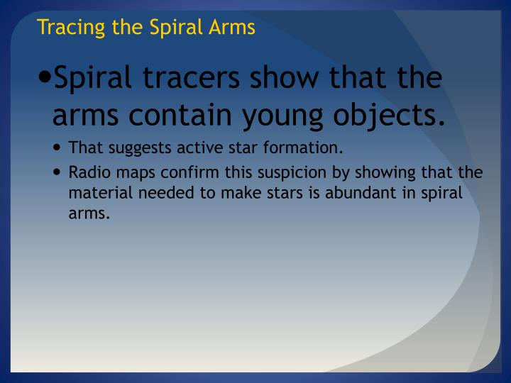 Tracing the Spiral Arms
