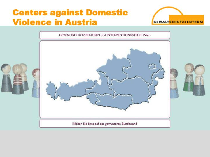 Centers against domestic violence in austria