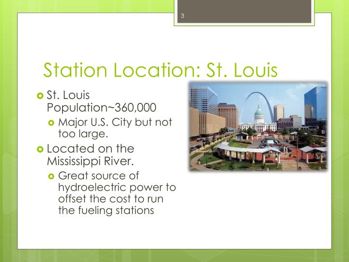Station location st louis