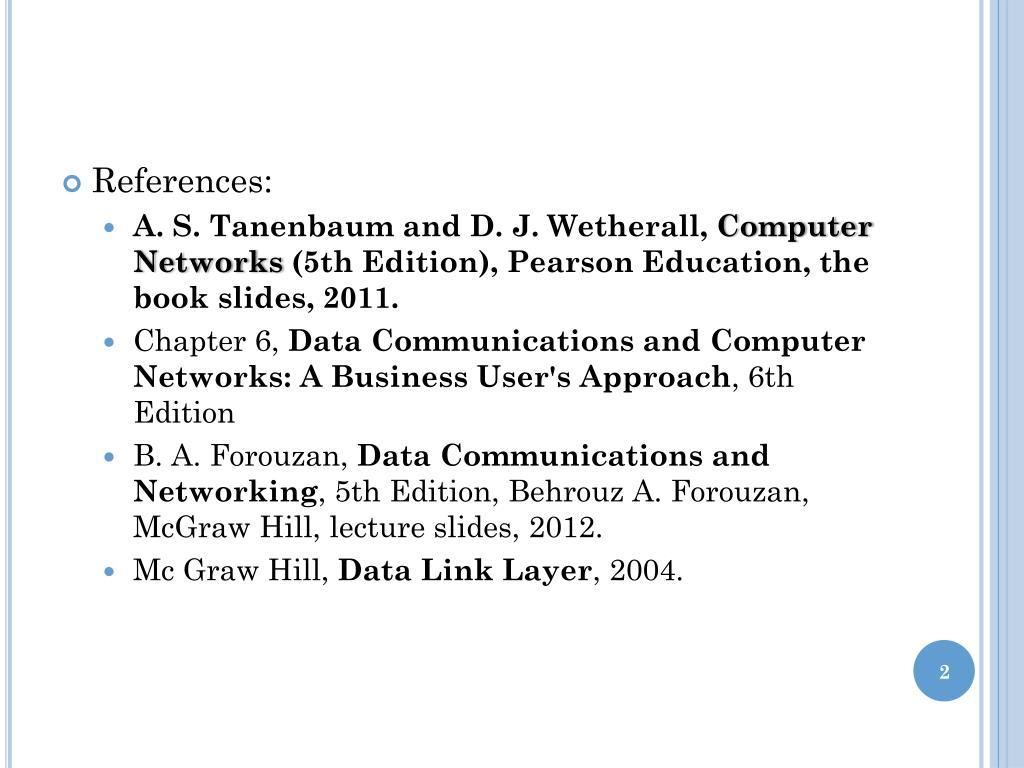PPT - In the Name of God Computer Networks Chapter 3: The