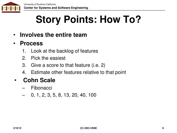 Story Points: How To?