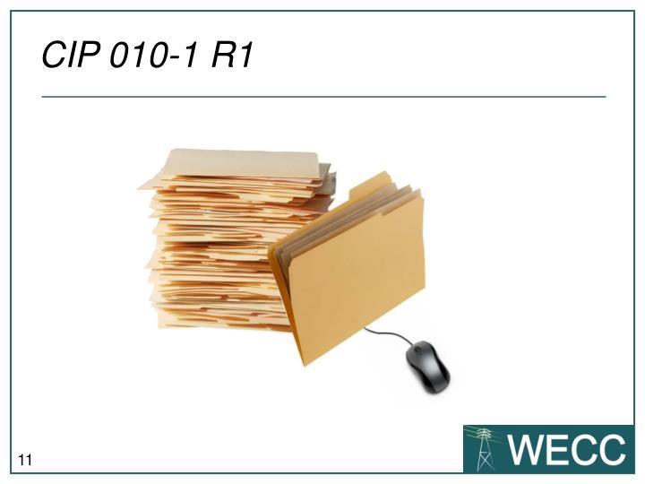 CIP 010-1 R1