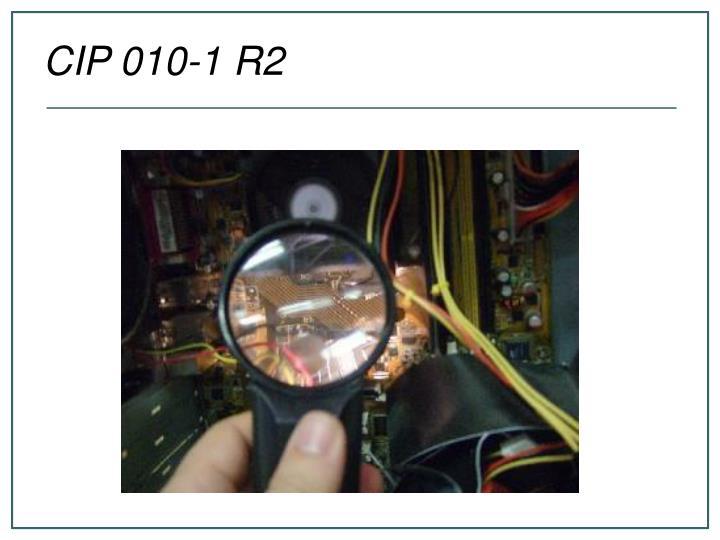 CIP 010-1