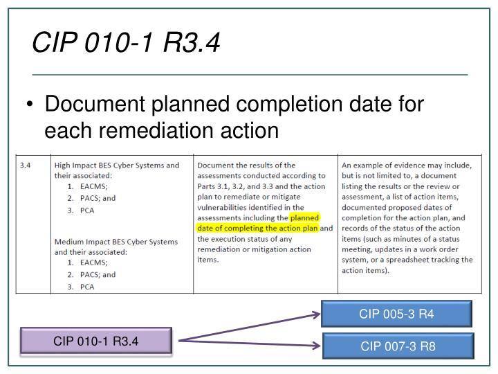 CIP 010-1 R3.4