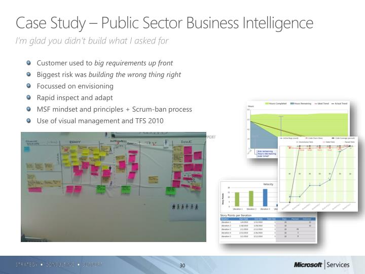 Case Study – Public Sector Business Intelligence