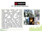pt eko green indonesia