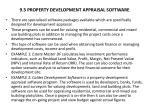 9 3 property development appraisal software